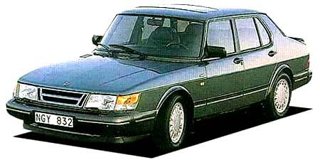 サーブ 900シリーズ 900ターボ16S (1989年10月モデル)