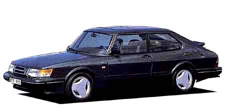 サーブ 900シリーズ 900i16 (1990年10月モデル)