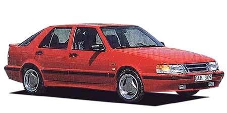 サーブ 9000シリーズ 9000 2.3ターボS(タラデガ) (1990年10月モデル)