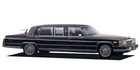 キャデラック キャデラックリムジン 54リムジン (1990年11月モデル)