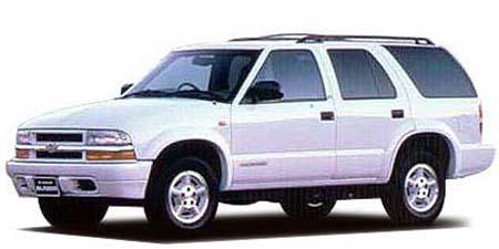 シボレー シボレーブレイザー LTフォレシエスタ (1998年10月モデル)