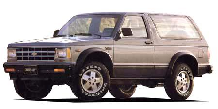 シボレー シボレーS-10ブレーザー ベースグレード (1989年10月モデル)
