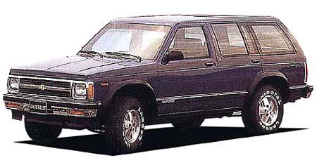 シボレー シボレーS-10ブレーザー 4ドア (1990年11月モデル)
