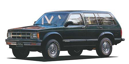 シボレー シボレーS-10ブレーザー ベースグレード (1992年11月モデル)