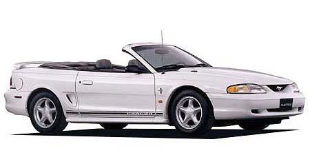 フォード マスタング Gリミテッド コンバーチブル (1998年3月モデル)