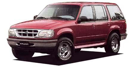 フォード エクスプローラー XL (1995年10月モデル)