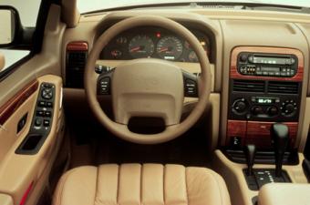 クライスラー・ジープ ジープ・グランドチェロキー リミテッド (1998年1月モデル)