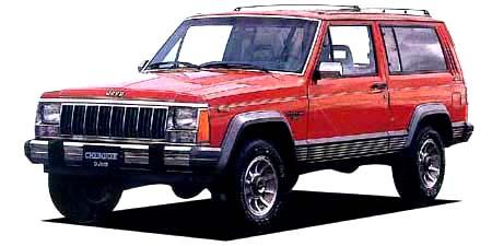 クライスラー・ジープ ジープ・チェロキー ラレード タイプB (1989年12月モデル)