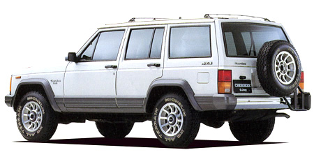 クライスラー・ジープ ジープ・チェロキー ラレード タイプA (1990年12月モデル)