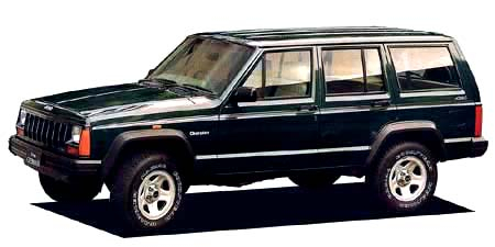 クライスラー・ジープ ジープ・チェロキー リミテッド (1993年12月モデル)