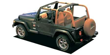 クライスラー・ジープ ジープ・ラングラー サハラ ソフトトップ (1997年10月モデル)