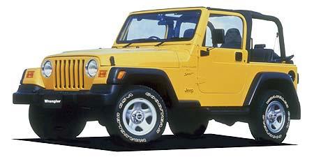 クライスラー・ジープ ジープ・ラングラー スポーツ3AT (2001年11月モデル)