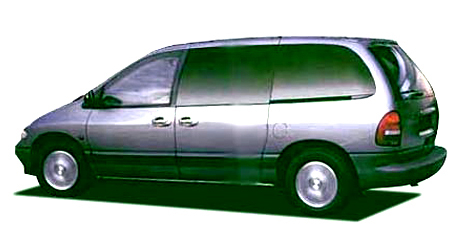 クライスラー クライスラー・ボイジャー LEリミテッド 本革シート (2001年1月モデル)