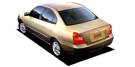 ヒュンダイ エラントラ 2.0GLS (2001年1月モデル)