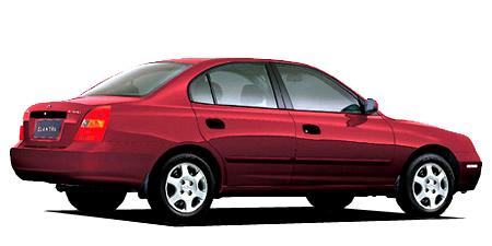 ヒュンダイ エラントラ 1.8GL (2002年8月モデル)