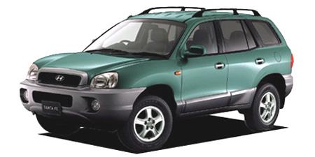 ヒュンダイ サンタフェ 2.4GLS (2002年8月モデル)