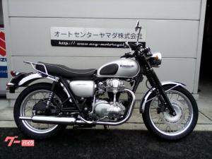 カワサキ/W650 ローハンドル仕様 リヤキャリア付き