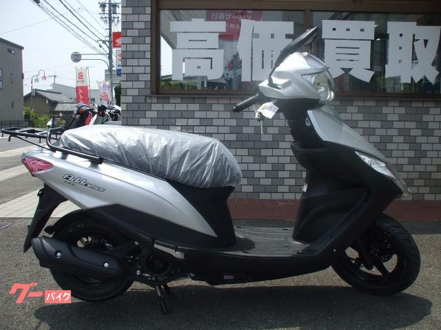 スズキ アドレス125・2020年モデルフラットシート仕様の画像(愛知県