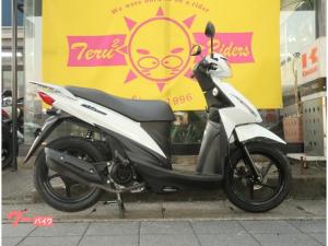 スズキ/アドレス110 LEDヘッドライト仕様・新品タイヤ