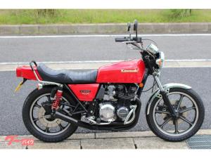 カワサキ/Z400FX Z400FX-E2 E1エンジン 外装NEWペイント タックロールシート シビエ エンジンガード