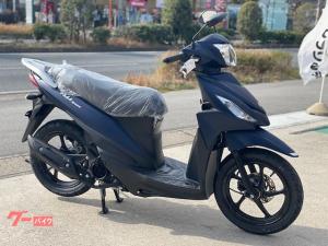 スズキ/アドレス110 2021年モデル マットブルー