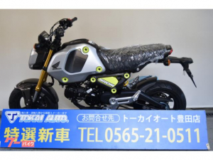 ホンダ/グロム 新型5速MT 単気筒 デジタルメーター LEDヘッドライト
