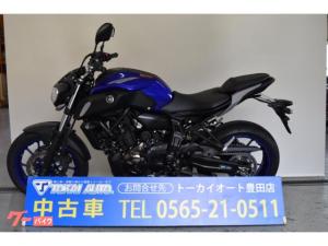 ヤマハ/MT-07 二気筒 デジタルメーター 700cc