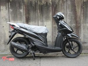 スズキ/アドレス110 新車 ブラック コンビブレーキ