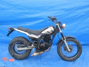 ヤマハ/TW225E DG09 社外マフラー ブラック
