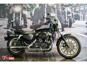 HARLEY-DAVIDSON/XL883R デタッチャブルシーシーバー ラゲッジラック ウインドシールド サドルバッグ
