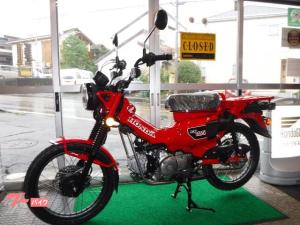 ホンダ/CT125ハンターカブ 日本正規モデル グローイングレッド