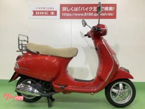 VESPA/LX125ie 2009年モデル/オプションリアキャリア装着