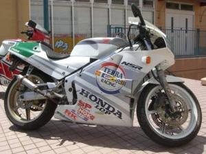 ホンダ/NSR250R SP MC18 銀テラ '89