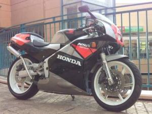ホンダ/NSR250R NC18 黒銀 '89