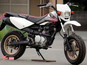 ホンダ/XR100 モタード 最終モデル 前後タイヤ新品 1482番
