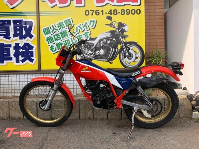 ホンダ TLR200の画像(石川県