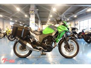 カワサキ/VERSYSーX 250 ツアラー  ABS 純正パニア/純正キャリア/純正エンジンガード