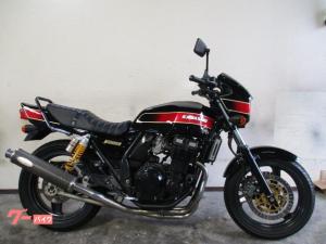 カワサキ/ZRX400 黒赤 E4カラー ハンドル ノジママフラー サス