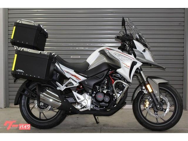 ホンダ CB190X 3点パニア標準装備 国内未発売モデルの画像(静岡県