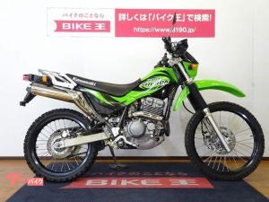 カワサキ/スーパーシェルパ 2001年モデル リアキャリア装備