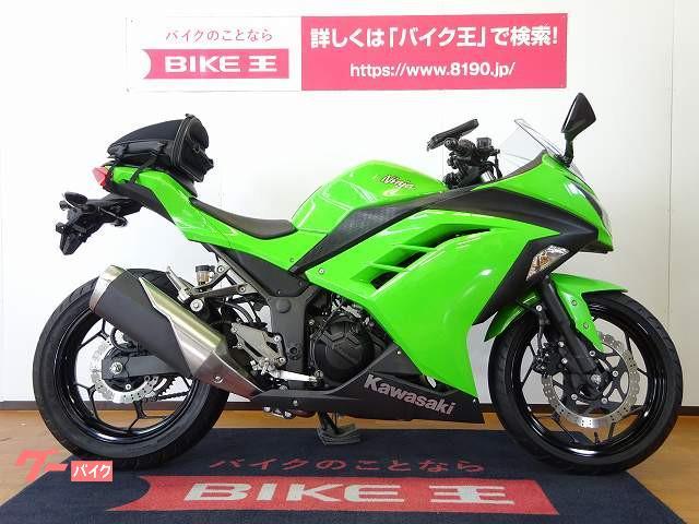 カワサキ Ninja 250 2017年モデル シートボックスの画像(長野県