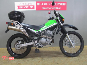カワサキ/スーパーシェルパ 2007年モデル トップケース装備 ワンオーナー