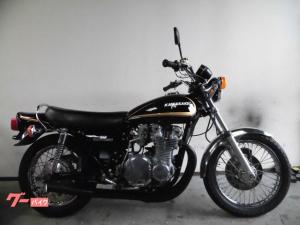 カワサキ/Z900 黒金オールペイント済み タイヤ新品 社外マフラー