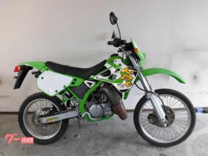 カワサキ/KDX125SR 緑 A8 最終型 ノーマル