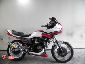 ホンダ/CBX550Fインテグラ 400CC登録済み 外装フルBEET仕様改 RPM管 オイルクーラー シート 車高調他