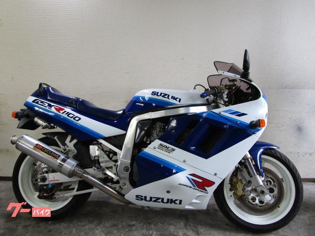 スズキ GSX-R1100 ETC付 油冷 ヨシムラテンプメーター サイクロンマフラー ブレンボキャリパー ブレーキ/クラッチマスター他の画像(三重県