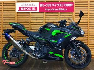 カワサキ/Ninja 400 トリックスターマフラーカスタム
