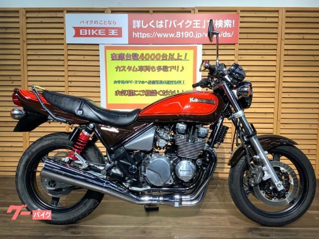 カワサキ ZEPHYRχ 2008年モデル/ノーマルマフラー/グラブバー/カスタムリアサスの画像(三重県