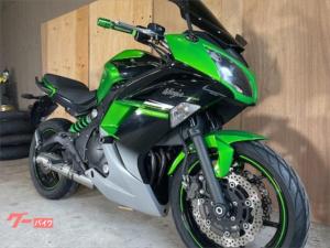 カワサキ/Ninja400 Special Edition ETC スクリーン WR'sマフラー
