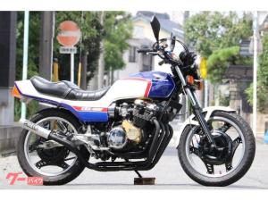 ホンダ/CBX400F 国内物 昭和57年8月登録 カスタム多数 各所OH済 青白